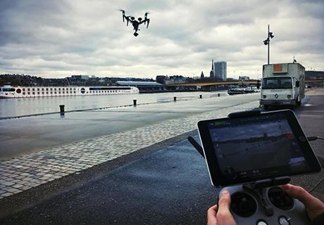 prenez de la hauteur - drone